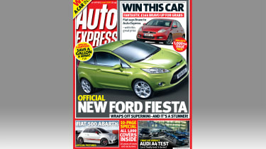 Auto Express Issue 1,000
