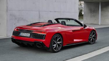Audi R8 RWD Spyder - rear