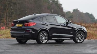 Used BMW X4 - rear