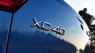 Volvo XC40 - rear badge