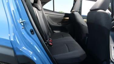 Toyota Yaris Cross - rear seats