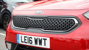 Kia Niro long-term - first report grille