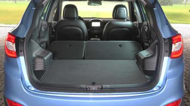 Hyundai ix35 boot seats folded