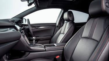 New Honda Civic Sport Line front seats
