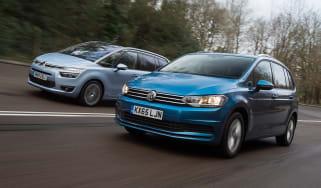 Volkswagen Touran vs Citroen Grand C4 Picasso - head-to-head