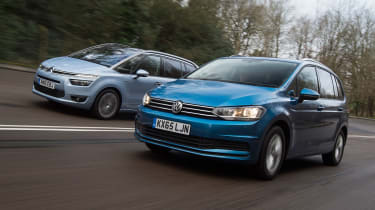 Volkswagen Touran vs Citroen Grand C4 Picasso - head-to-head
