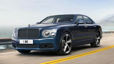 Bentley Mulsanne 6.75 edition - front action