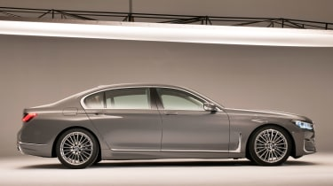 BMW 7 Series facelift - side