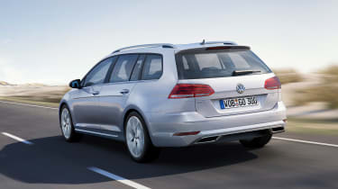 New 2017 Volkswagen Golf Estate - rear