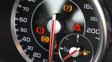 Mercedes SLK55 AMG dials