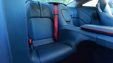 Aston Martin DBS Superleggera - rear seats