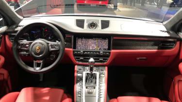 Porsche Macan Turbo - interior Frankfurt