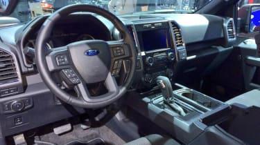 Ford F150 interior