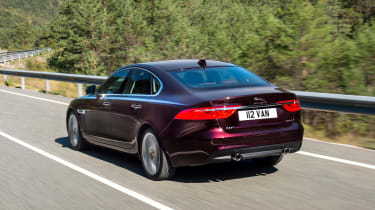 Jaguar XF Portfolio - rear tracking