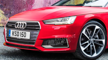 Audi A3 Coupe - front detail (watermarked)