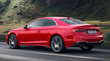 2019 Audi S5 - rear tracking