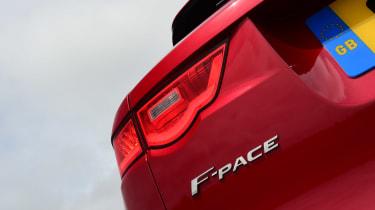 Jaguar F-Pace 3.0 V6D - F-Pace badge