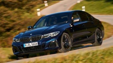 BMW M340i xDrive - front cornering