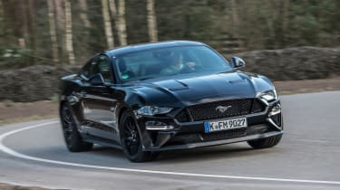 Ford Mustang 10-speed auto - front cornering