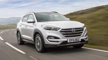 Hyundai Tucson - front action