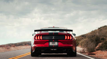 Ford Mustang Shelby GT500 - full rear with wing