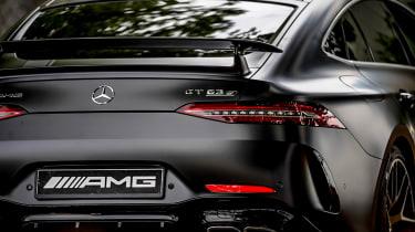 Mercedes-AMG GT four-door rear lights