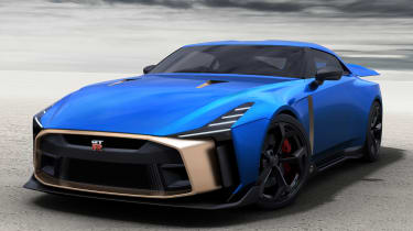 Nissan GT-R50 by Italdesign - front