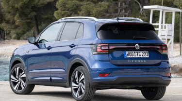 Volkswagen T-Cross - rear static