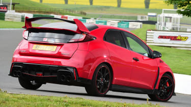 Honda Civic Type R - rear static