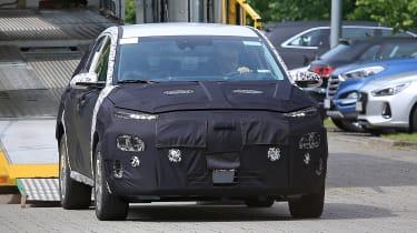Hyundai Kona EV front