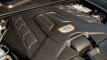 Porsche Cayenne Coupe Turbo GT - engine