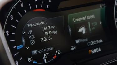 Ford Mondeo Vignale road trip - mileage