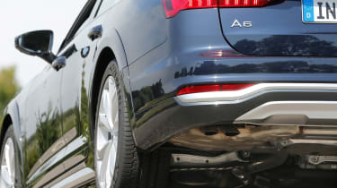 Audi A6 Allroad - exhaust