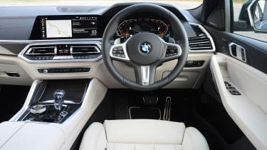 BMW X6 - dash