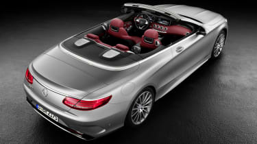 Mercedes S-Class Cabriolet 4