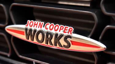 MINI Cooper S JCW badge