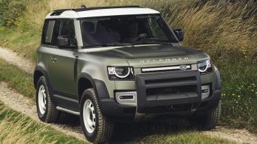 2019 Land Rover Defender front