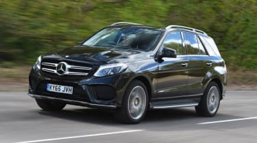 Used Mercedes GLE - front action