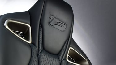 Lexus GS F - seat detail