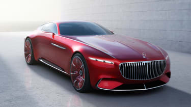 Mercedes-Maybach 6 concept coupe - front