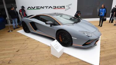 Lamborghini Aventador S - Goodwood front