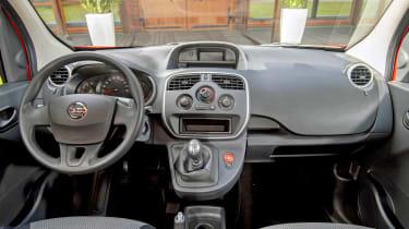Nissan NV250 dashboard