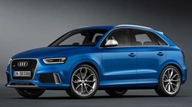 Audi Q3 RS front side blue static