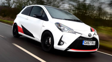 Toyota Yaris GRMN - front action