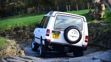 Land Rover Discovery Mk1 - rear off-road