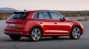 Audi Q5 SUV - rear quarter