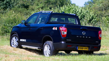 SsangYong Musso Rebel - rear static