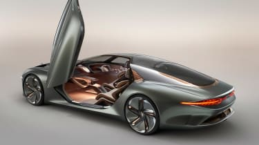 Bentley EXP 100 GT concept - door open