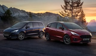 Ford S-Max hybrid and Ford Galaxy hybrid