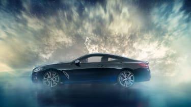 BMW M850i Night Sky - side